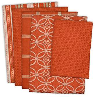 """DII Cotton Oversized Kitchen Dish Towels 18 x 28"""" and Dishcloth 13 x 13"""""""