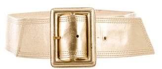 Saint Laurent Metallic Waist Belt
