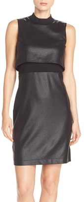 Women's French Connection Sleeveless Popover Body-Con Dress $168 thestylecure.com