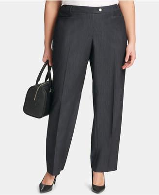 Calvin Klein Plus Size Modern Denim Ankle Pants