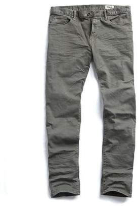 Todd Snyder 5-Pocket Garment-Dyed Stretch Twill in Moss