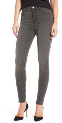 Women's J Brand Maria High Waist Skinny Jeans $218 thestylecure.com