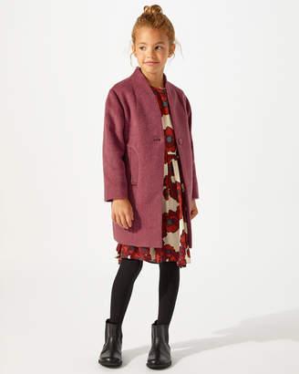 Jigsaw Cocoon Coat