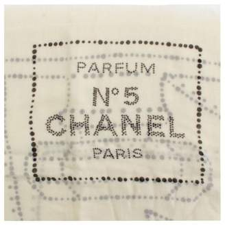 Chanel Ecru Cashmere Scarves