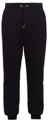 Versace Tapered Leg Track Pants - Mens - Black