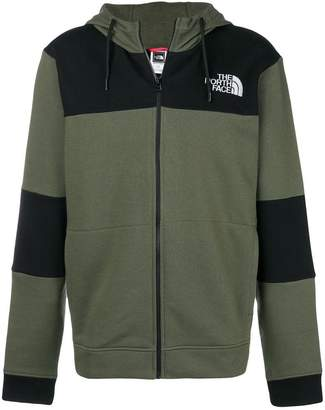 The North Face (ザ ノース フェイス) - The North Face colour block zip hoodie
