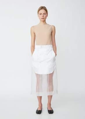 Maison Margiela Layered Organdis Skirt