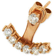 Anita Ko 18k Rose Gold Diamond Ear Jacket