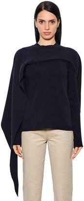 J.W.Anderson Asymmetric Wool & Cashmere Knit Sweater