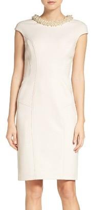 Women's Betsey Johnson Embellished Midi Dress $158 thestylecure.com