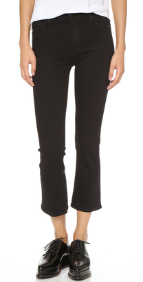 MOTHER The Insider Crop Jeans $196 thestylecure.com