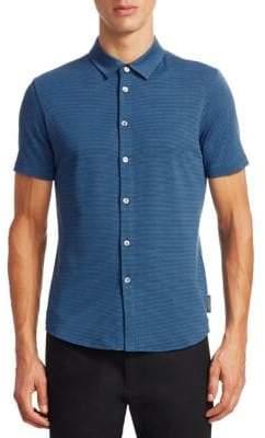 Emporio Armani Striped Button-Down Shirt