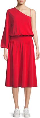 A.L.C. Shara One-Sleeve Midi Dress
