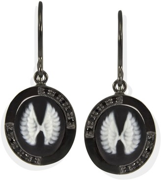 Vintouch Italy Wings Cameo Earrings
