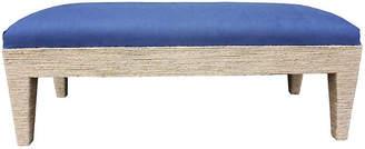 Kim Salmela Del Mar Bench - Navy Linen