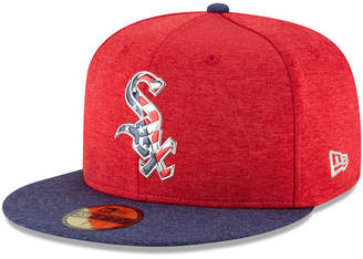 New Era Chicago White Sox Authentic Collection Stars & Stripes 59FIFTY Cap