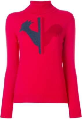 Rossignol logo patch sweater