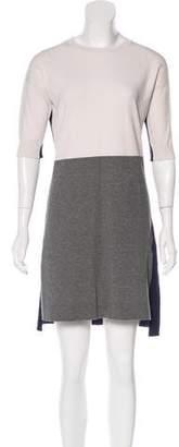 Max Mara Weekend Knit Color Block Dress