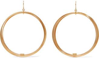 Aurelie Bidermann Thalia Gold-plated Earrings