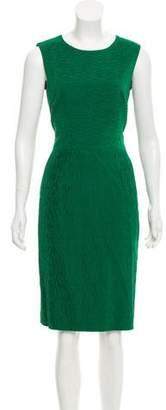 Rena Lange Sleeveless Midi Dress