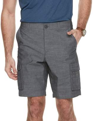 Apt. 9 Men's Premier Flex Regular-Fit Stretch Chambray Cargo Shorts