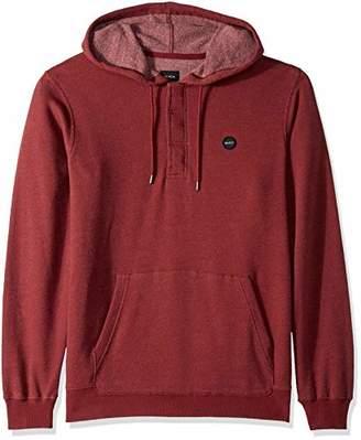 RVCA Men's Lupo Pullover Hooded Fleece Sweatshirt