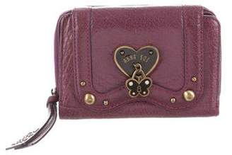 Anna Sui Leather Compact Wallet