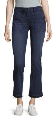3x1Frayed Bootcut Jeans