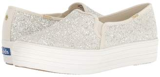 Kate Spade Keds x Bridal Triple Decker Glitter Women's Shoes