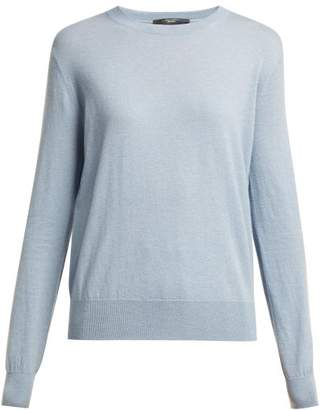 Max Mara Caladio Sweater - Womens - Light Blue
