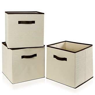 "Lifewit 13"" x 13"" x 13"" Foldable Cube Storage Bins"