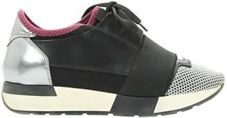 Balenciaga Race leather trainers