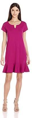 Three Dots Women's Flounce Dress
