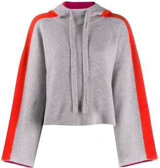 Zoe Jordan cropped hoodie