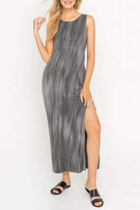 Lush Clothing Tie-Dye Maxi With-Slit