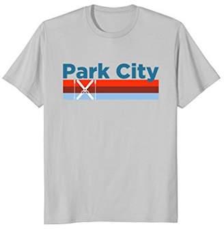 Retro Snow Ski - Park City Utah T Shirt
