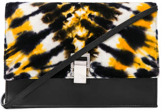 Proenza Schouler Small Tie Dye Velvet Lunch Bag