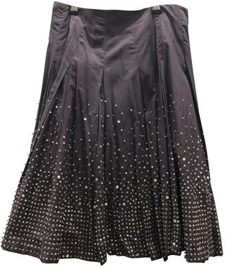 Reiss Purple Cotton Skirt for Women