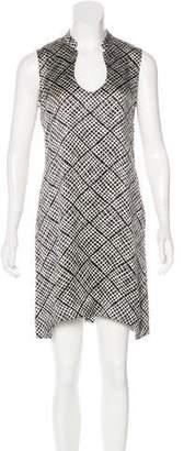 Saint Laurent Satin Mini Dress