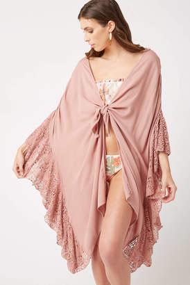 O'Neill Mauve Rosaleen Kimono Cover Up Mauve M/L