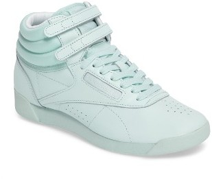 Women's Reebok Freestyle Hi Colorbomb Sneaker $74.99 thestylecure.com