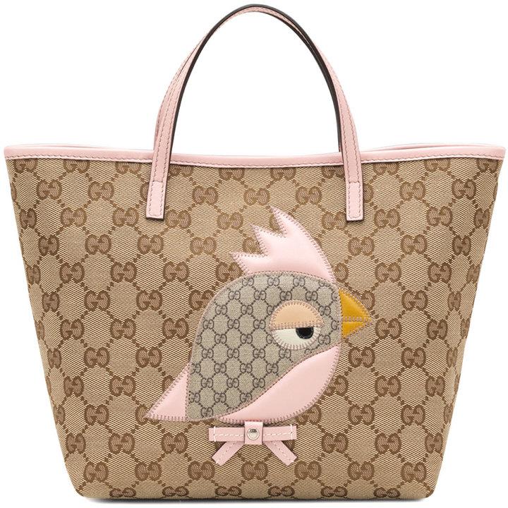 Gucci Children's Zoo Handbag, Pink
