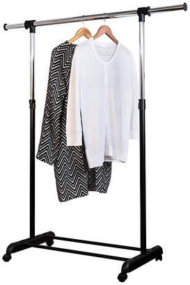 Honey-Can-Do Adjustable Garment Rack with Extendable Bar