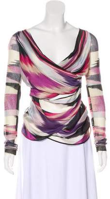 Missoni Wool & Silk-Blend Top
