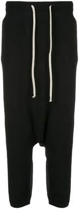Rick Owens drop crotch track trousers