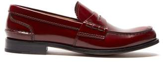 Church's Pembrey Leather Penny Loafers - Womens - Burgundy
