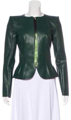 Jitrois Structured Leather Jacket