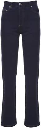 A.P.C. Standard Court Japanese-cotton High-rise Jeans