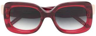 Pomellato Eyewear square oversized sunglasses