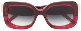 Pomellato Eyewear square oversized sunglasses